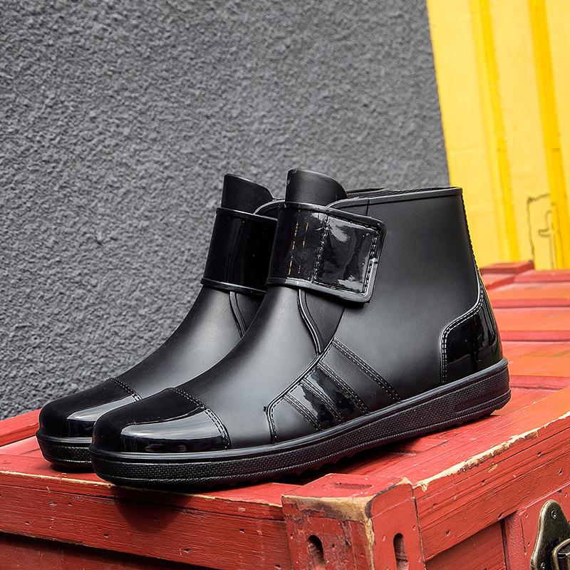 雨鞋男低帮雨靴短筒防滑厨房鞋马丁靴防水鞋男士套鞋休闲钓鱼鞋