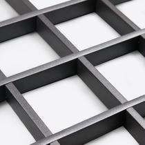 简易立体铝格栅装饰品天花吊灯天花板花园葡萄架吊顶办公室装修