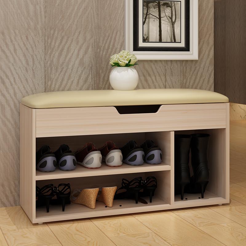上新可以坐的鞋柜可以坐着换鞋的鞋架换鞋凳长条凳家庭储物鞋店