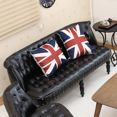 欧式小客厅阳台卧室小沙发单人迷你店铺女服装店双人小型儿童沙发年中大促
