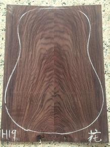 印度花纹玫瑰木单板背侧板 特殊纹理 吉他制作材料配件 宏音乐器