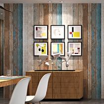 工业风格怀旧仿水泥板墙纸清水混凝土灰色个姓酒吧网吧服装店壁纸