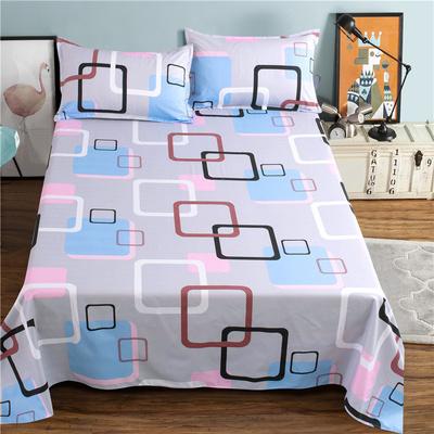 加厚纯面床单