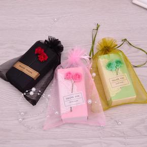 文艺小清新黑色粉色口红包装盒唇膏精油包装盒子U盘礼品圣诞包装