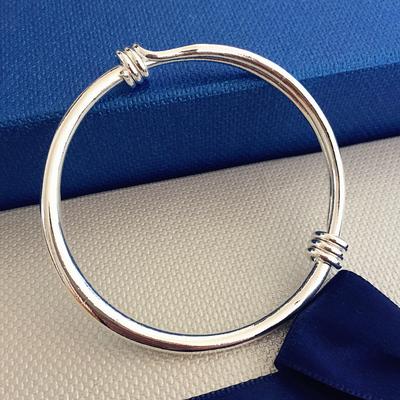 韩版银色手环