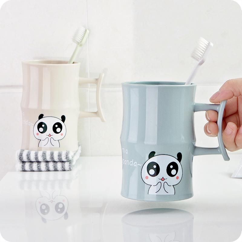 创意竹节造型儿童刷牙杯塑料卡通洗漱杯情侣刷牙缸杯子漱口杯