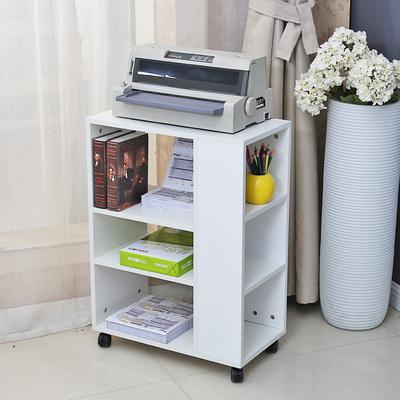 放打印机架子置物架桌子柜子办公落地实木放置柜多层移动办公室哪个品牌好