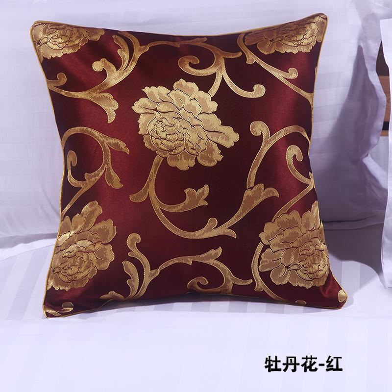 宾馆酒店床上用品靠垫靠枕抱枕套芯可配同等花色床旗