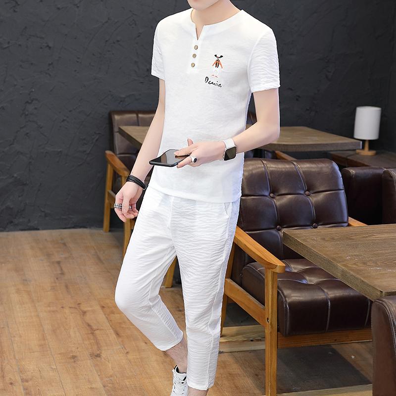 冰丝白色衬衫