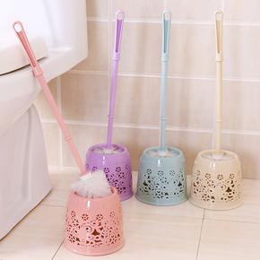 刷厕所免打孔用品缕空蹲马捅刷的架厕刷马桶刷卫生单个刷子长柄无