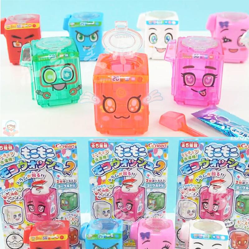 小伶玩具日本食玩马桶糖diy自制洗衣机冒泡水饮料饮品第二弹可食