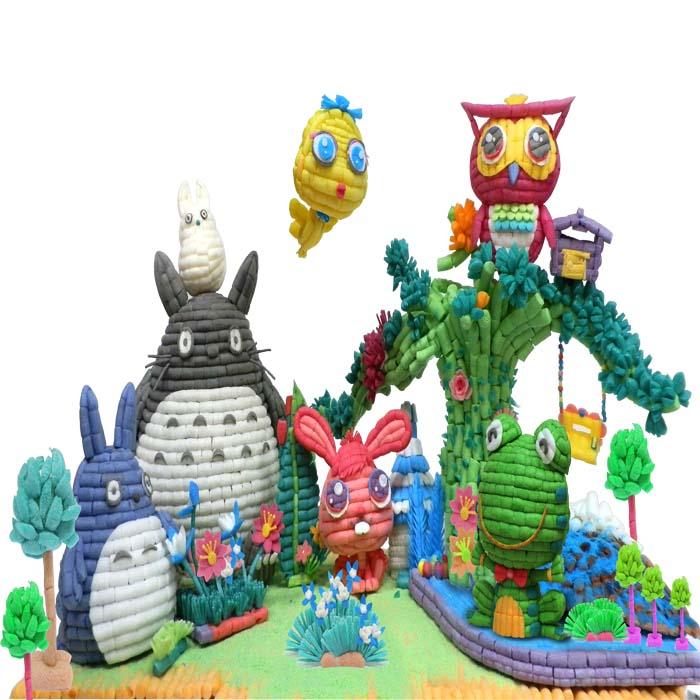儿童魔法DIY手工玉米粒益智玩具