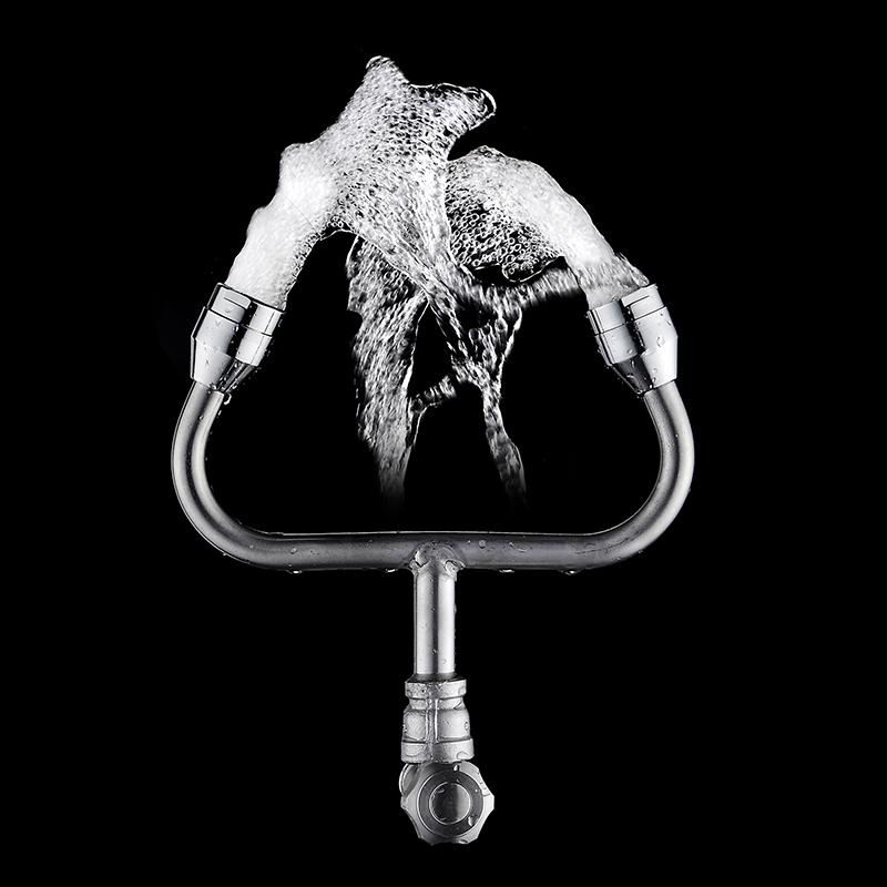 便携式眼简易冲喷头洗眼器不锈钢洗眼器手持喷淋家用紧急
