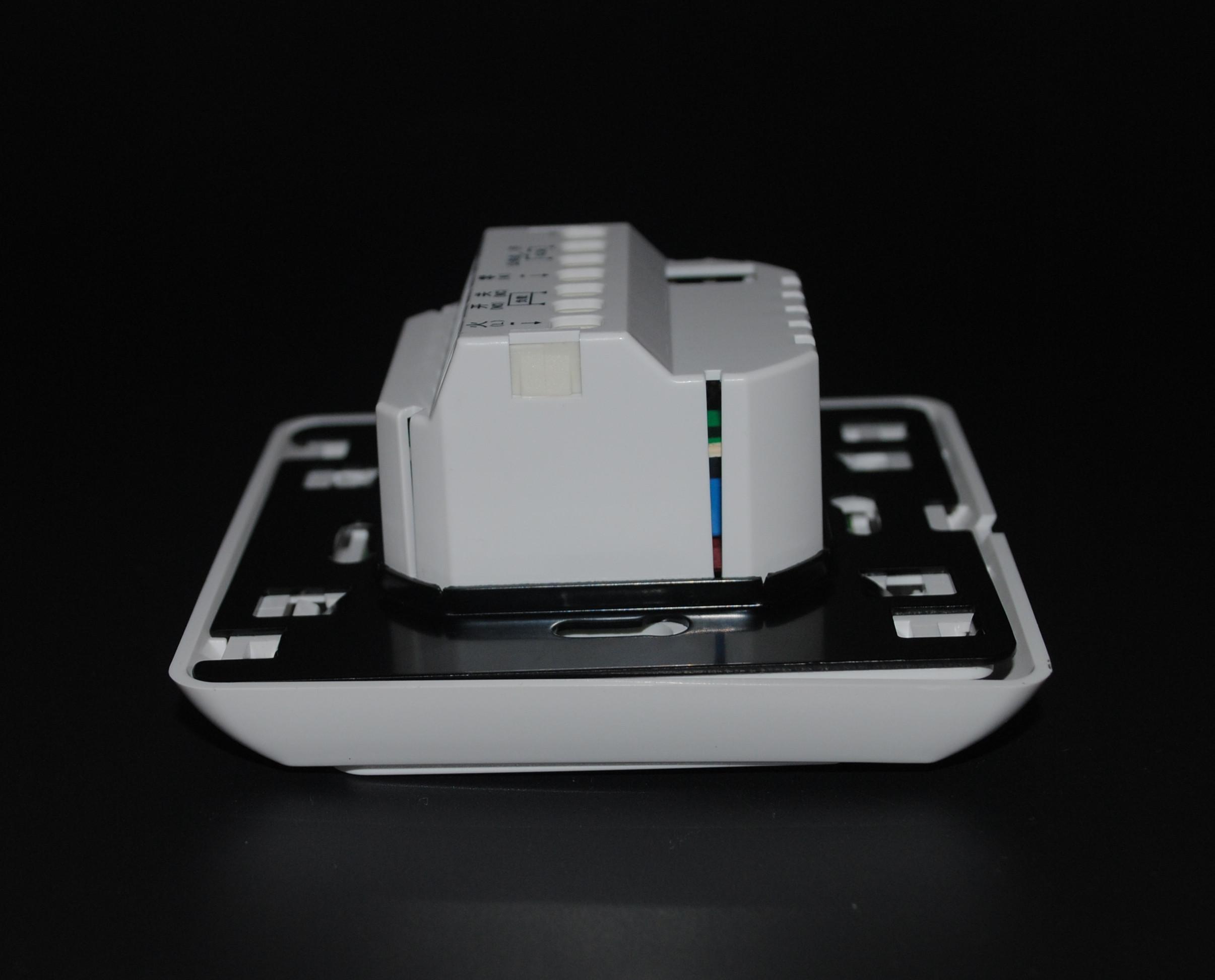 智能周编程水地暖控制器温控开关集中供暖电采暖电缆碳晶恒温面板