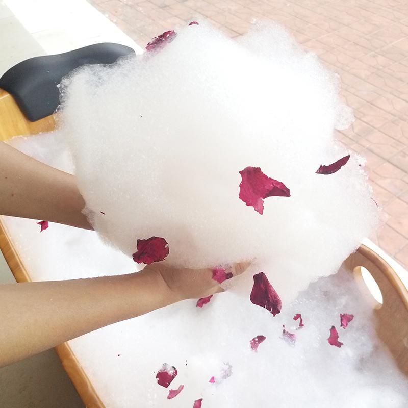 包邮干花瓣牛奶浴套装玫瑰泡泡浴超多泡泡成人儿童浴缸泡泡浴泡澡