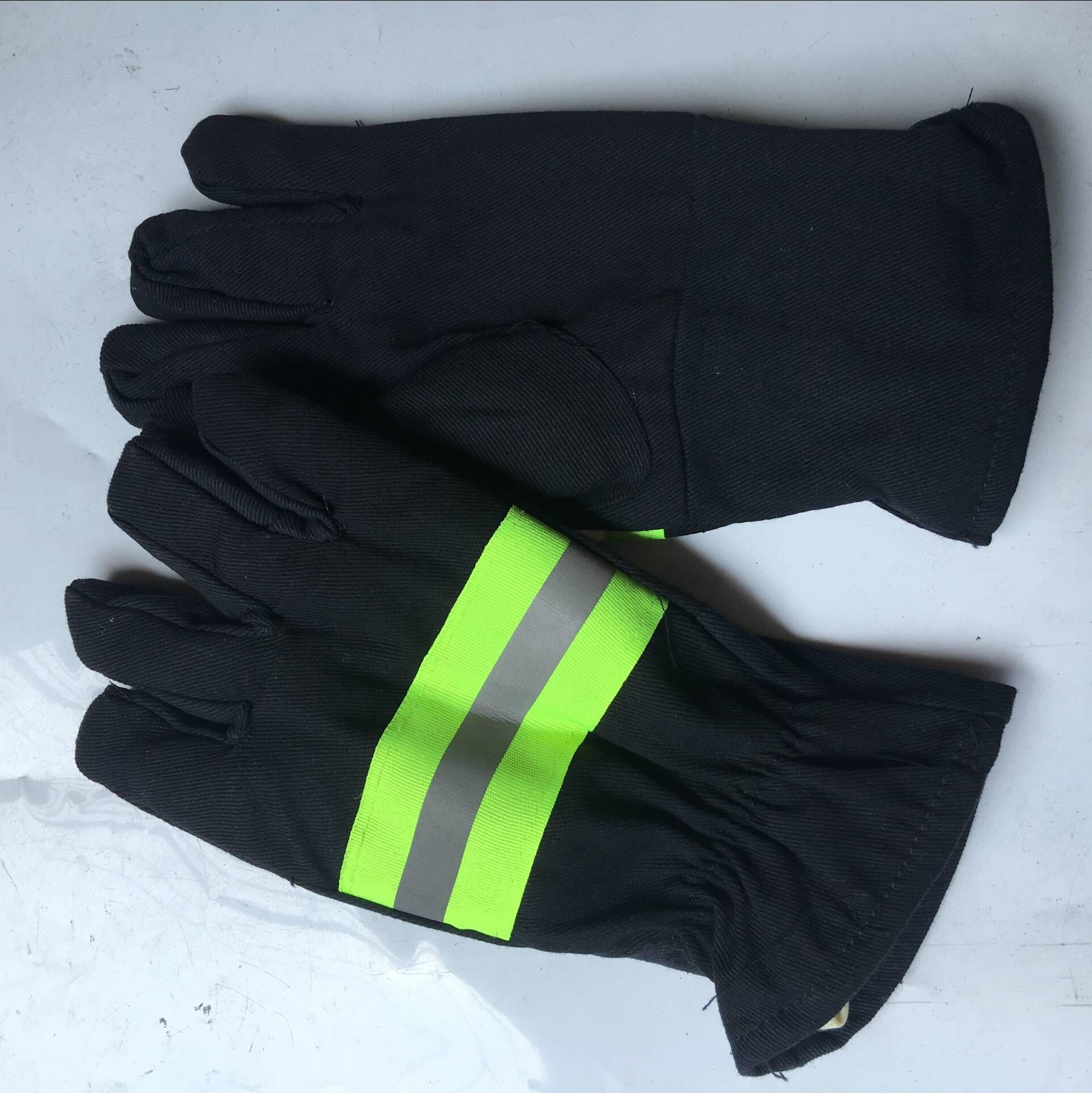 火灾手套防护手套防滑手套可配消防服套装逃生