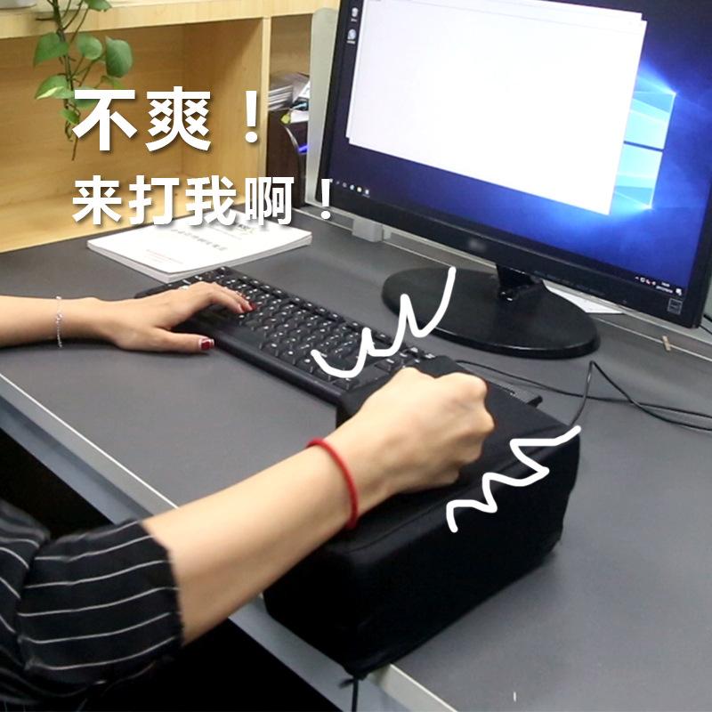 USB BigEnter发泄按电脑巨号的超大回车键解压减压神器创意礼物