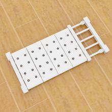 衣柜收纳分层隔板可伸缩橱房柜免钉置物架浴室隔层架寝室宿舍神器