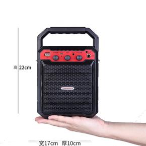 广场舞音响 户外便携式手提插卡蓝牙音箱 大功率低音炮扩音器