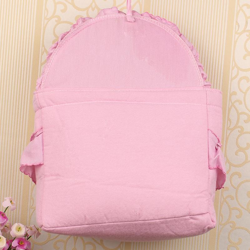 门后收纳墙式布艺挂袋 钥匙雨伞杂物储物挂袋 卡通多用壁式整理袋