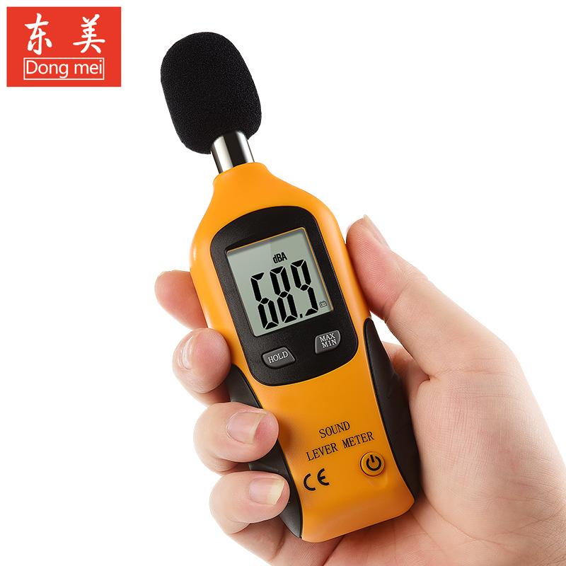 东美HT-80A分贝测试仪 噪音噪声检测仪器 噪声测试仪家用分贝计