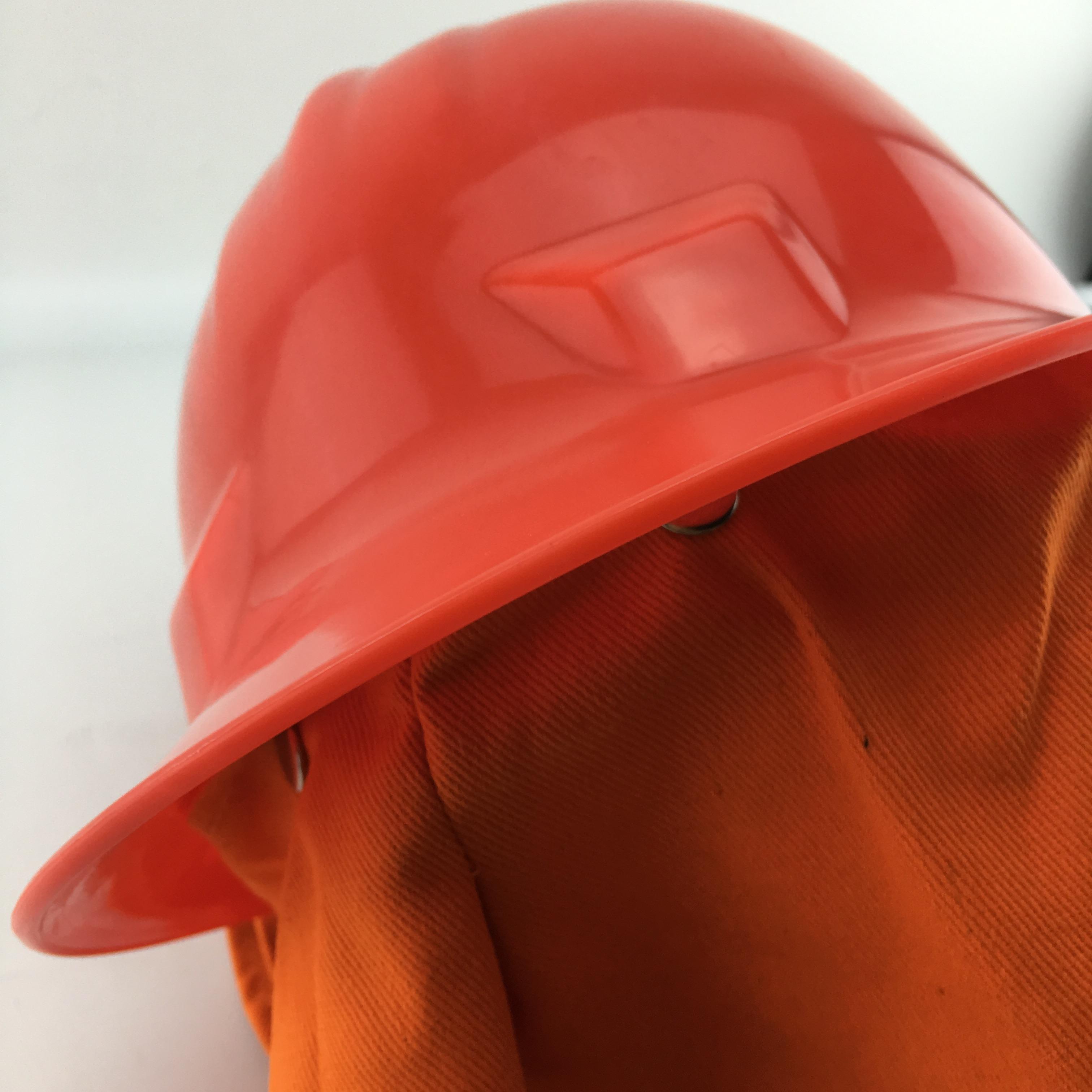 加厚消防头盔消防帽97防火帽消防员披肩带罩头盔消防微站备用直销