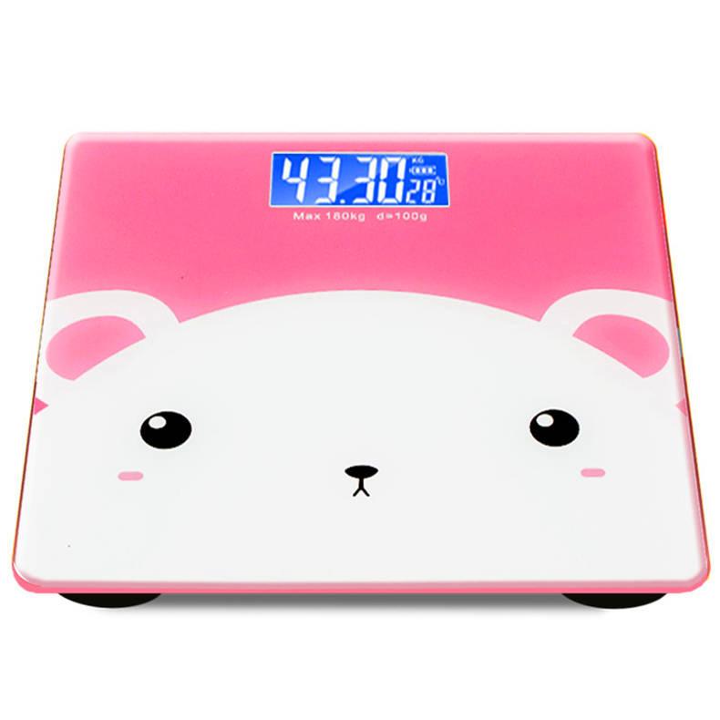 300斤美体kg家庭usb充电家用精准成人电子称体重秤包邮数字人体秤