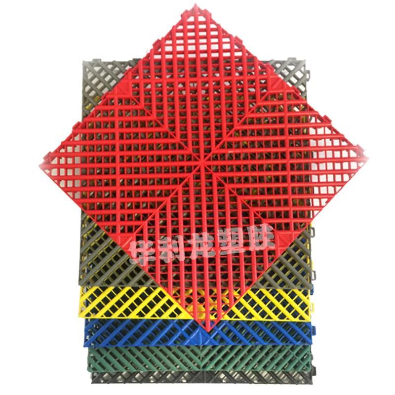 1.8洗车房格栅拼接排水多功能防滑免挖沟洗车店地面塑料拼接板