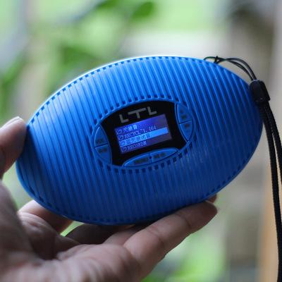 蓝牙音响定时开机关机插卡音箱播放器迷你显示歌词便携外放低音炮