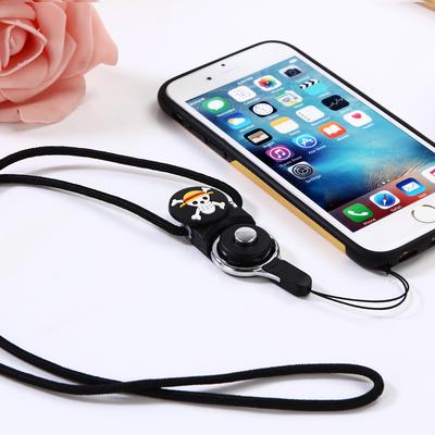 海贼王手机挂绳长短款手机壳挂脖绳子工牌胸牌挂饰链挂件女