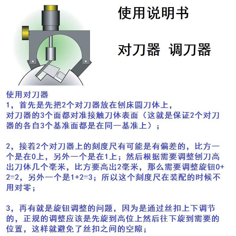 包邮校准调刀器对刀器调整平装卸木工刨床刨刀校准台刨压刨机器