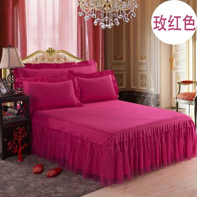 公主床裙席梦思床罩蕾丝床裙伴侣床套床笠1.8米床婚庆蚊帐包邮性价比高吗