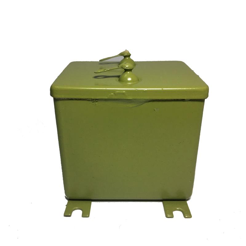 机械白金机专用电容器30UF江阴铁壳电容630V逆变器电容cj41-2电容