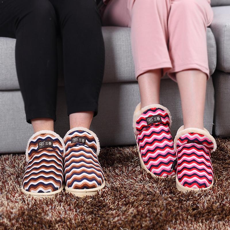 三春电暖鞋 电热保暖鞋暖脚鞋插电暖脚宝多功能暖脚垫加热鞋垫