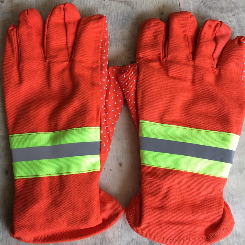 隔热手套 长胶手套防滑手套防护手套阻燃物流消防快递邮管局包邮