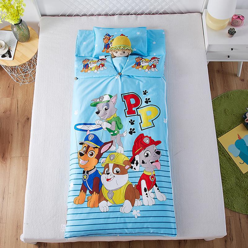 婴儿睡袋全棉防踢儿童宝宝夹棉睡袋