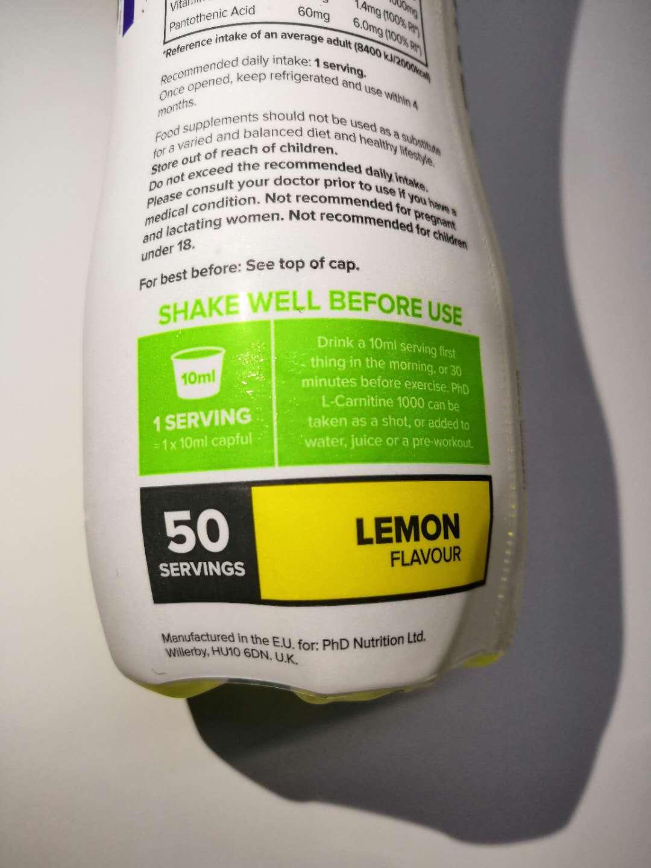 天猫国家在售的英国phD减肥饮料体验,加水稀释即可使用