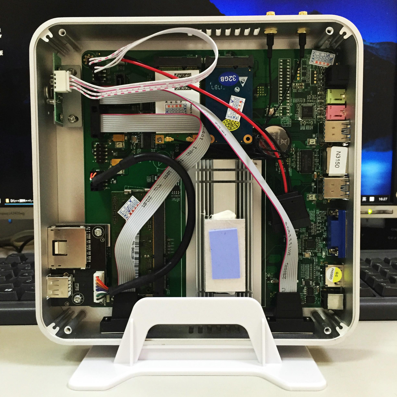 占美无风扇四核配置迷你电脑HTPC体验,家用高清播放最佳选择
