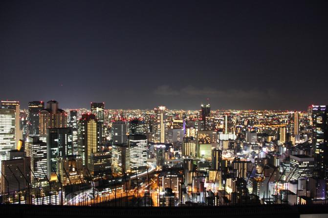 梅田蓝天大厦空中庭院展望台