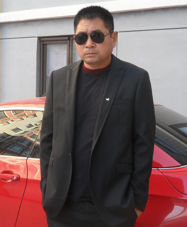 【专柜新品】劲霸男士西服套装外套秋季新品套西服|HSFA3553