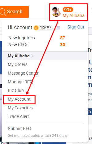 Alibaba com Help Center - How to bind account with mobile phone