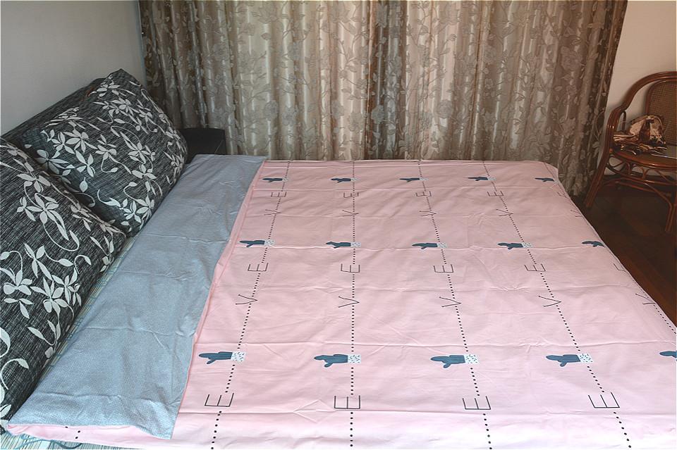水星家纺全棉被套