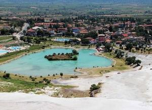 棉花堡温泉池(Pamukkale Thermal Pools)