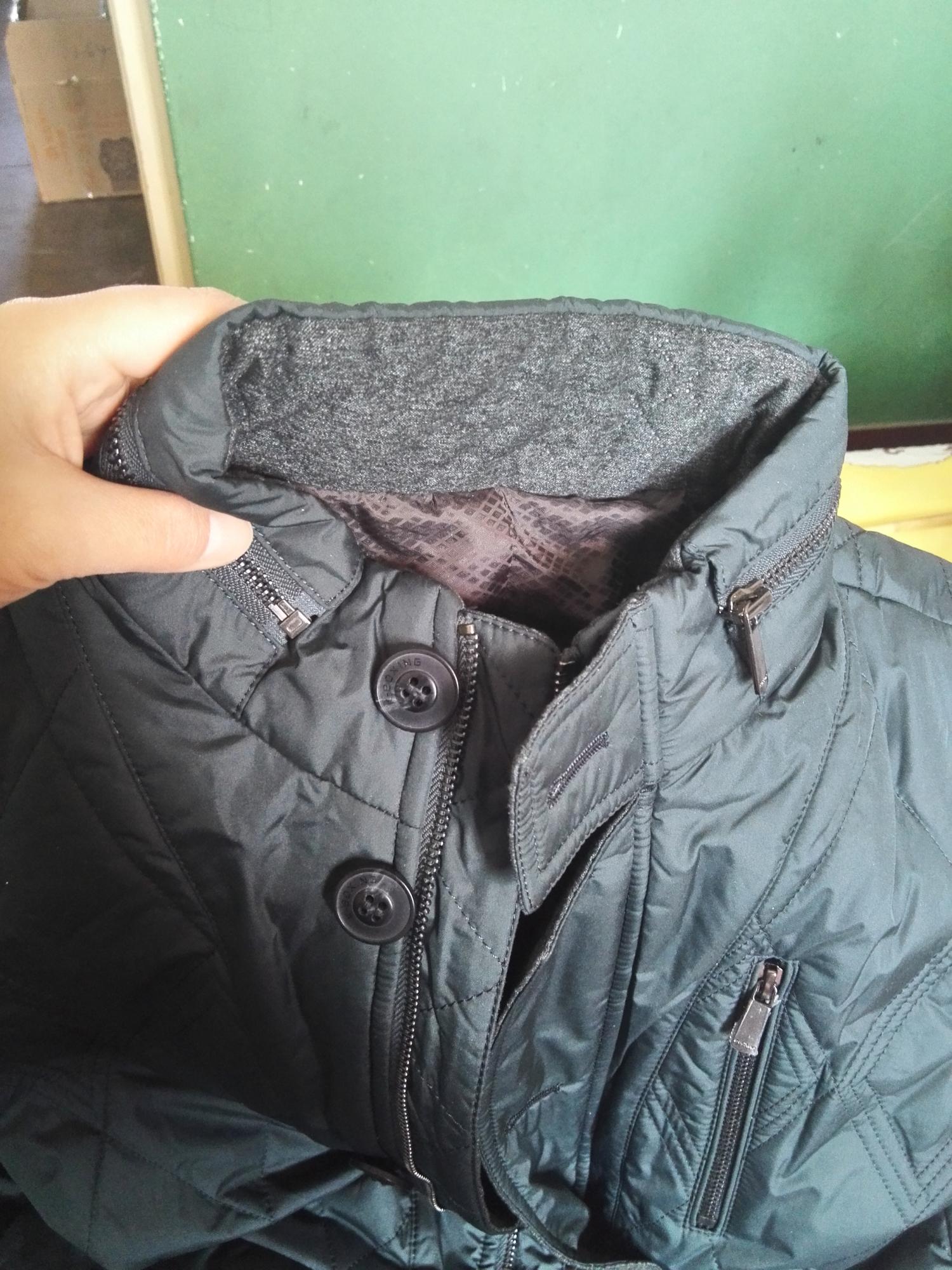 劲霸加厚棉服外套