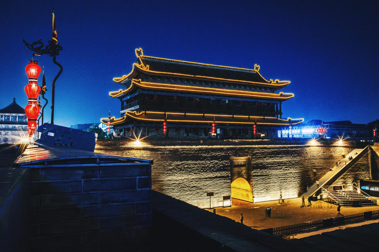 西安城墙景区