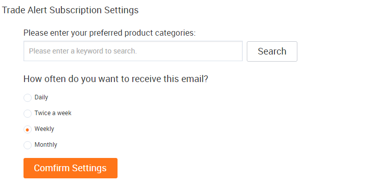 Alibaba com Help Center - How do I unsubscribe from Trade Alert?