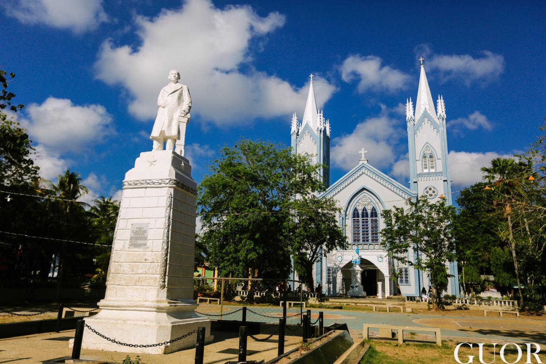 公主港蓝色大教堂