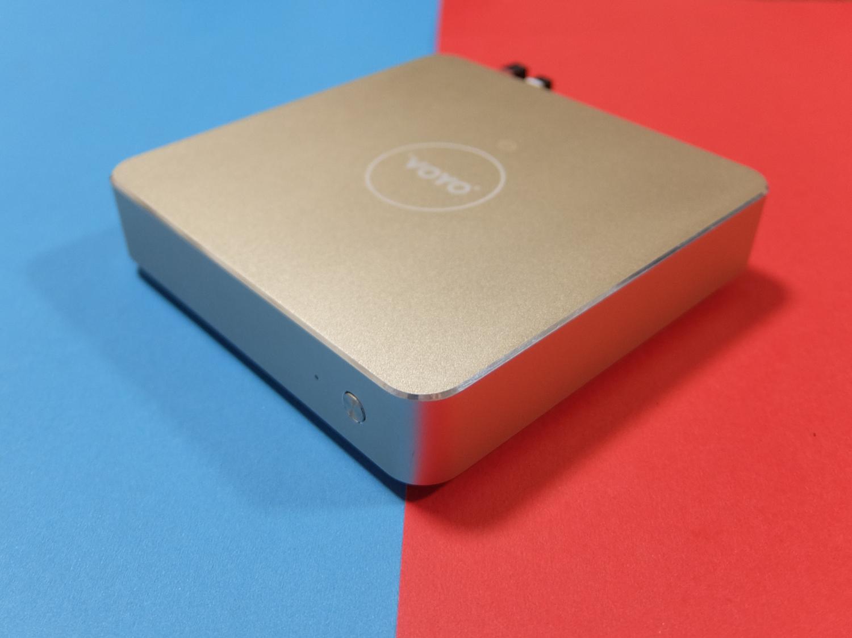 Voyo微型迷你办公电脑推荐,金属质感,配置够用
