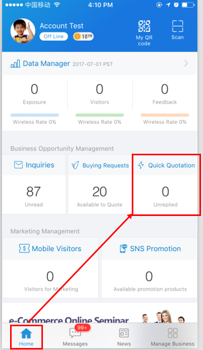 alibaba com help center what is quick quotation