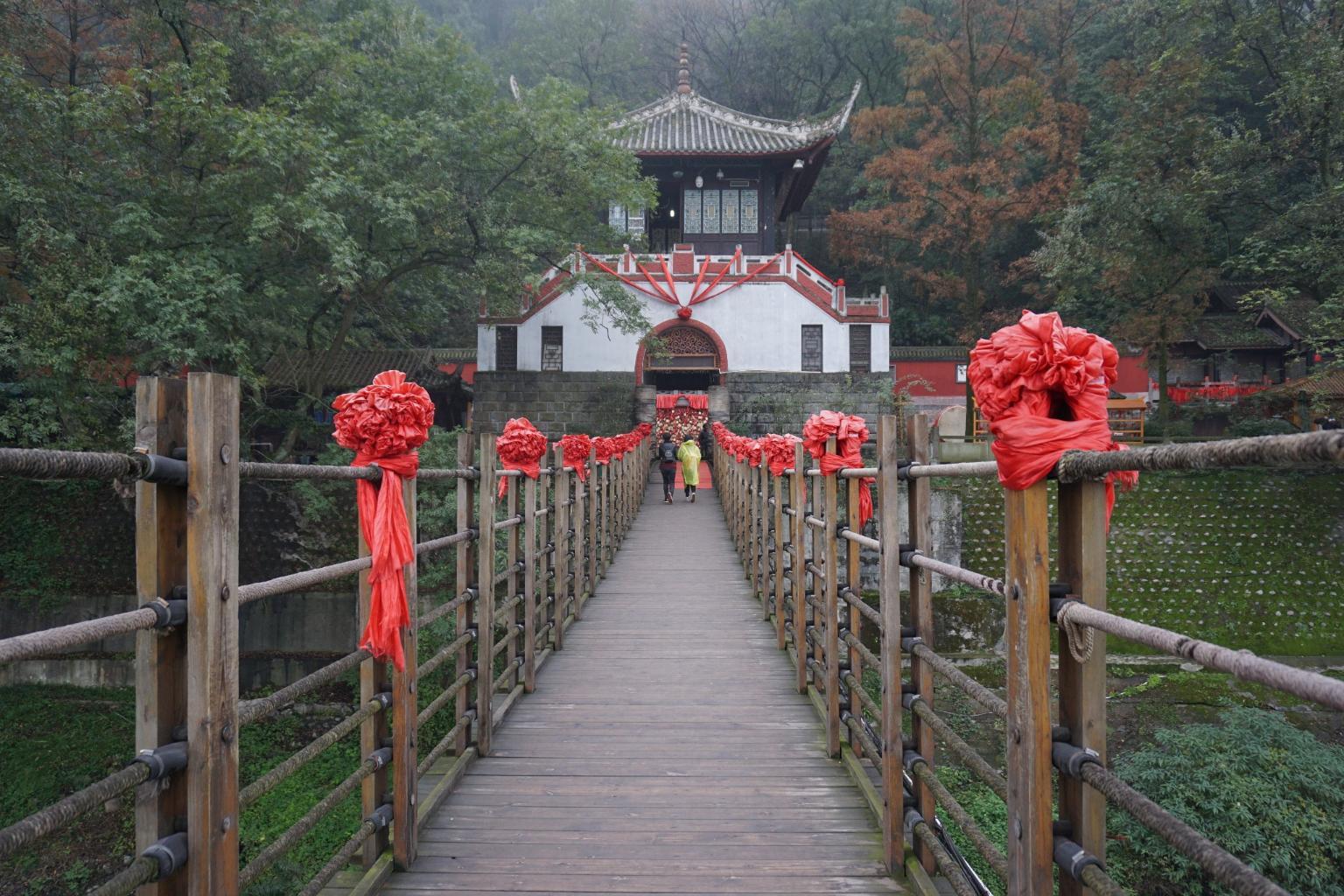 都江堰景区-安澜桥